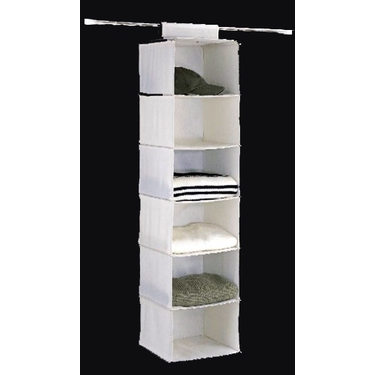 Set of 2 Six Shelf Accessory Bag by Organize It All
