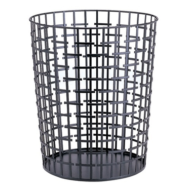 Slice Alternation Round Wastebasket by Organize It All