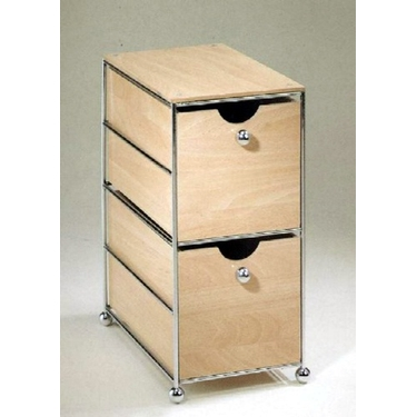 Desktop 2 Drawer Storage Chest by Organize It All
