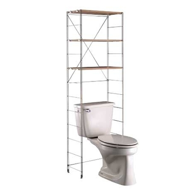 Space Saver Bathrooms : Bathroom Shelving Units: Decorative Bathroom Shelving, Shelf Unit