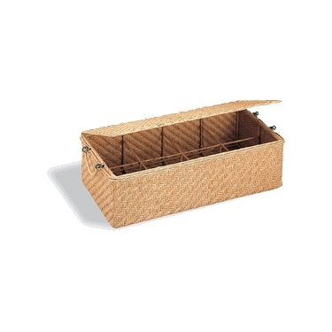Wicker CD Storage Basket