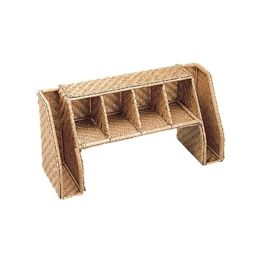 Wicker Desktop Organizer