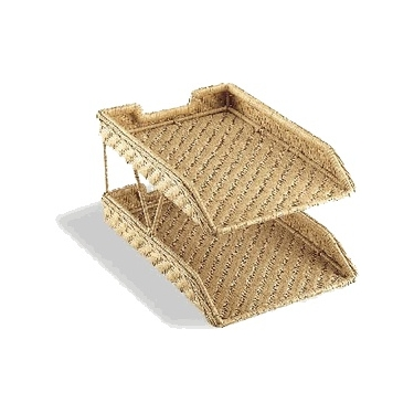 Wicker Document Tray