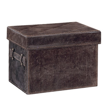 Cafe Suede Document File Box