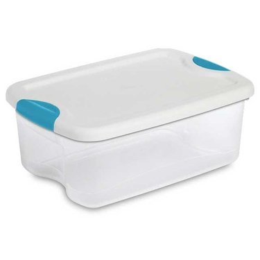 Sterilite 15 Quart Latch Lid Tote - Pack of 12