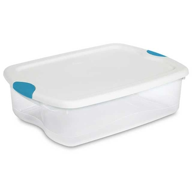 Sterilite 35 Quart Latch Tote: Set of 6