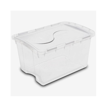 48 Quart Hinged Lid Storage Box by Sterilite® - Case of 6