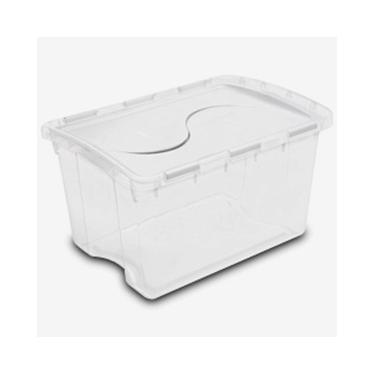 48 Quart Hinged Lid Storage Box by Sterilite® - Case of 6