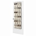 24 Pocket shoe storage for doors