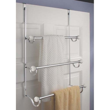 York Over The Door Triple Towel Bar by InterDesign