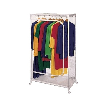 Clear Vinyl Wardrobe by Richards