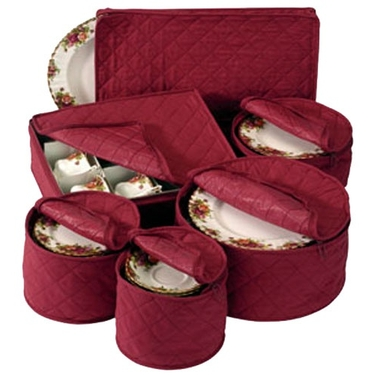 China Protectors Storage Set In Crimson Red by Richards
