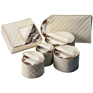 China Protectors Storage Set in Natural Cotton by Richards