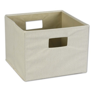 Natural Canvas Bin - by Household Essentials