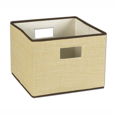 Resin Wicker Storage Bin by Household Essentials