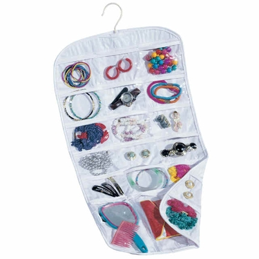 Personal Hanging Jewelry Organizer by Household Essentials