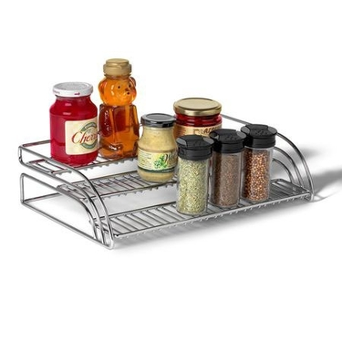 Tiered Shelf Organizer - Chrome