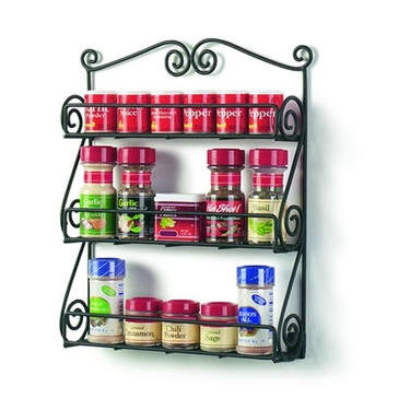 Scroll Spice Rack