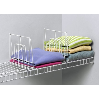 Small Ventilated Shelf Divider by Spectrum