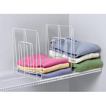 Large Ventilated Shelf Divider by Spectrum