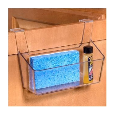 Clear Over The Cabinet Storage Basket
