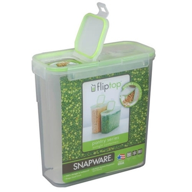 Slim Modular Airtight Flip-Top Dry Food Storage by Snapware - 9x4x9