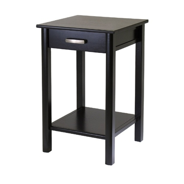 Liso Printer/Side Table with Drawer and Shelf by Winsome Wood