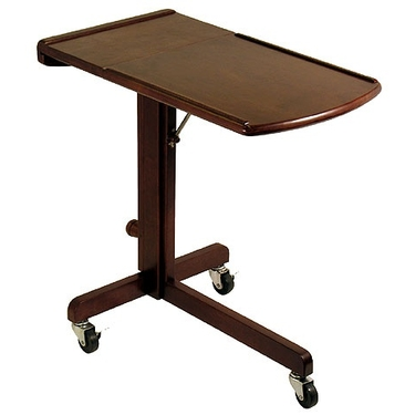 Adjustable Lap Top Cart & Bed Tray by Winsome Wood