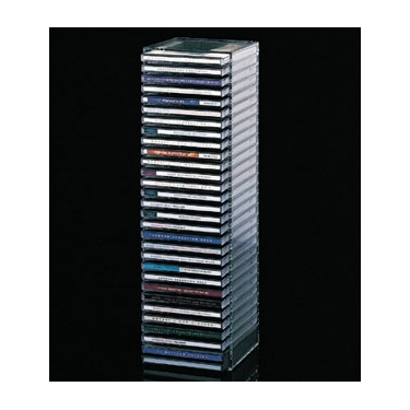 Acrylic 30 CD Storage Tower