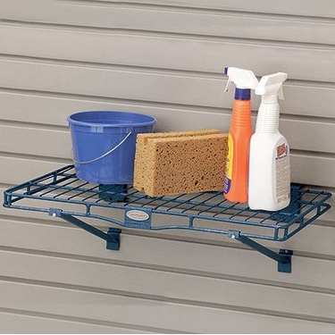 Suncast Storage Trends Slatwall Metal Shelf: 14''x24''