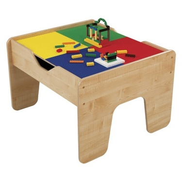 2-in-1 Lego Compatible Activity Table by KidKraft