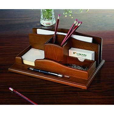 Wood Desktop Organizer by Proman