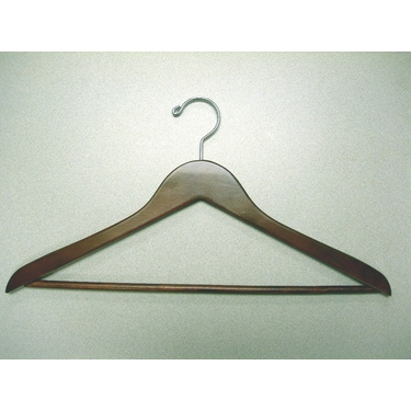 Genesis Suit and Pant Hangers in Light Walnut - Set of 50