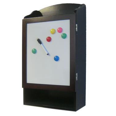 Key Cabinet with Message Board by Proman