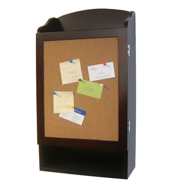Key Cabinet with Cork Board by Proman