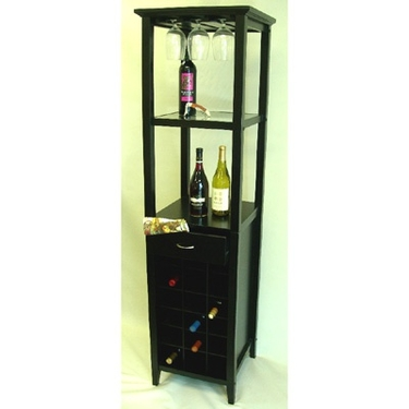 Galina Wine Rack Tower by Proman
