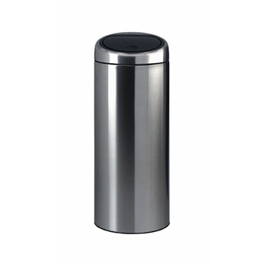Brabantia Touch Bin, 30L / 8 Gallon, Brilliant Steel