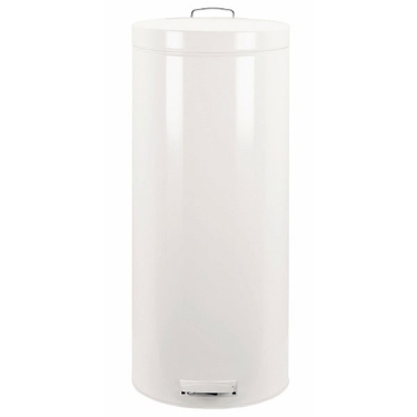Brabantia 30L Pedal Bin, White
