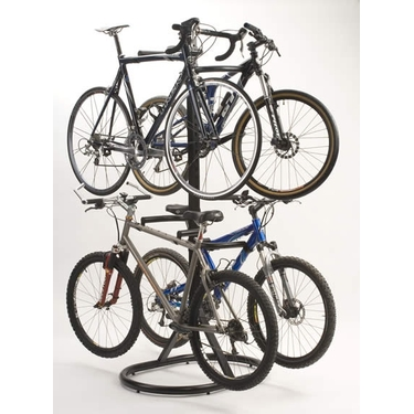 Free Standing Four Bike Rack by Racor (PLB-4R)