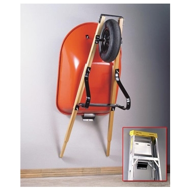Wheelbarrow & Ladder Wall Hook by Racor (PSM-1R)