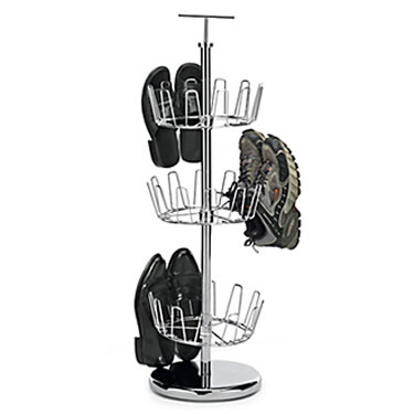 3 Tier Revolving Shoe Tree by Polder
