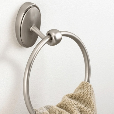 Isla Nickel Towel Ring by Umbra