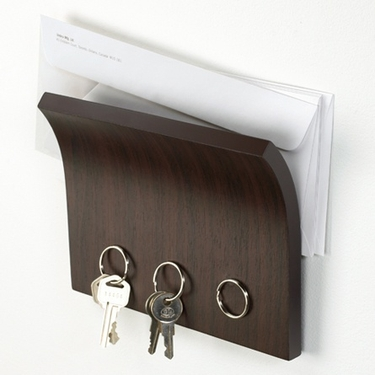 Magnetter Wall Mounted Key and Letter Holder by Umbra