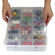 Toy Car Carry Case   Matchbox Car Storage By Plano