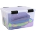 Airtight and water resistant 11.65 gallon storage box