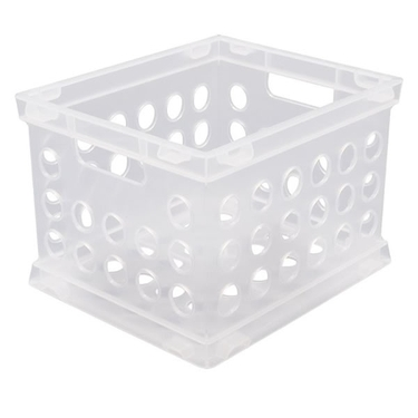 Sterilite Clear Mini Crate