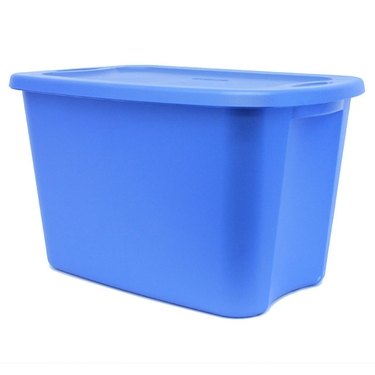 Sterilite 18 Gallon Container - Lapis Blue