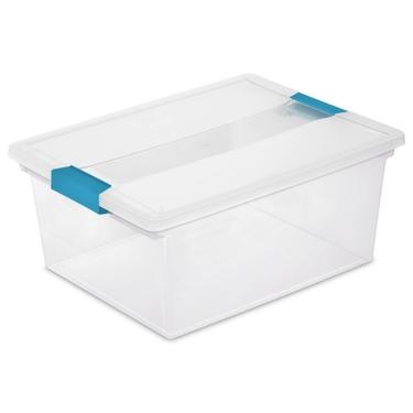 Sterilite Deep Clip Box