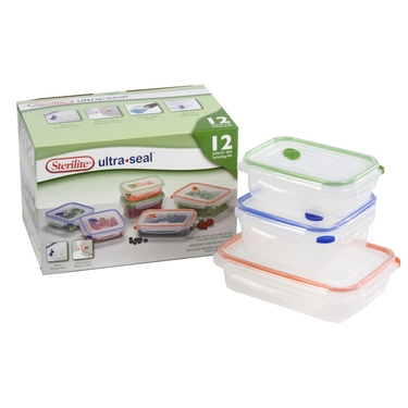 Sterilite Ultra Seal 12 piece Set