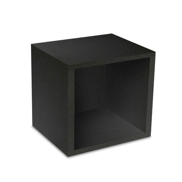 Eco-Friendly Modular Storage Cube - Black